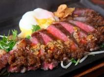 【上質素材×フレンチ伝統ソース】 黒毛和牛のサーロインステーキ