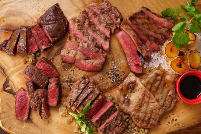 お値打ちステーキは部位、産地も豊富です!