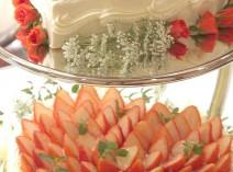 専属パティシエの特製ウェディングケーキ