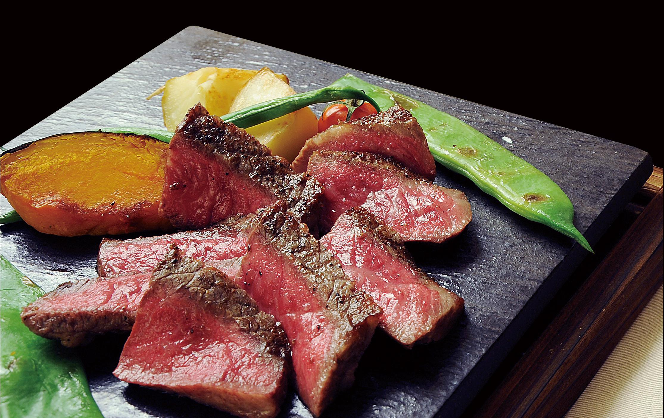 黒毛和牛のステーキを豊富に取り揃えております